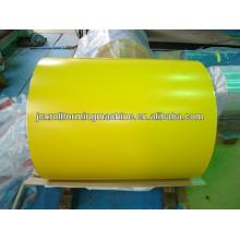 Recubrimiento superior 15-25um, recubrimiento posterior 5-15um PPGI en bobinas, JCX-A4