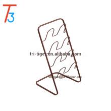 European Style Small Simple Design Shoe Rack 4 Shelf 4 Pair Iron Slipper Storage Rack
