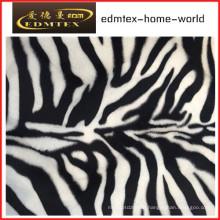 Animal Pattern Print Velvet Fabric for Fashion Garment (EDM5071)