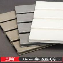 Panneaux Slatwall en PVC Panneau Slatwall WPC Panneau Slatwall en plastique