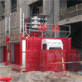 CE Approved Building Hoist with Double Cage (SC200/200)