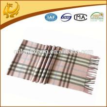 Echarpes en laine réversible organiques sur mesure