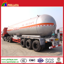 Remorque de transport de GPL à l'ammoniac anhydre 36 Cbm-58,3 Cbm