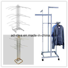 Stainless Steel 4- Way Garment Hanger (GARMENT-1121)