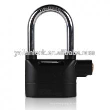 Heavy duty Nuevo producto Función de la cubierta de plástico impermeable barato Sirena Alarm padlock