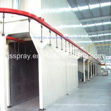 Tipo de ponte industrial, forno de secagem para linha de pintura