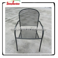 Metallgitter Stahlrahmen Gartenstuhl Pulverbeschichtung Möbel