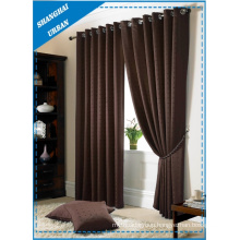 Home Decoration Blackout Ruby Polyester Window Curtain
