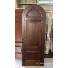 Latest Design Solid Wooden Interior Room Door right handed inswing wooden cafe doors
