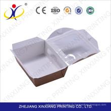Échantillon gratuit! Écofriendly manipulé la boîte de papier réutilisable pour le gâteau