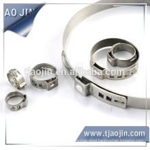 Single Ear Ss/Hse Clamp/silicone hose clamps