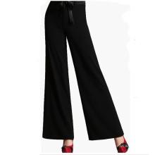 15PKPT02 2015-16 Últimas dama na moda outono inverno calças de linho