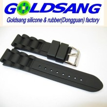 Eco-Friendly Silicone Men′s Watchband /Watch Strap