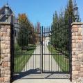 En gros meilleure vente antique porte décorative en fonte de jardin design