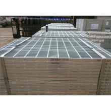 Galvanized Plain Steel Grating Welded with Twisted Bar