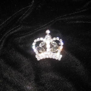 Wholesale Crystal Crown Sash Pins