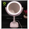 2017 hot novo produto bluetooth speaker música maquiagem espelho com luz LED