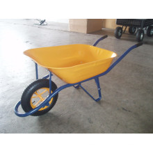 Wheelbarrow with Solid Wheel and Platstic Tray