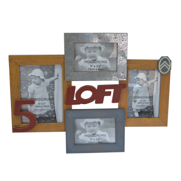 Antique Mutilple Photo Frame