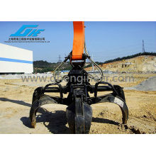 Hydraulic Orange Peel Grab