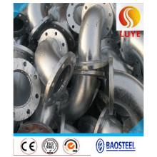 Raccords de tuyaux en acier inoxydable Coude de 180 degrés
