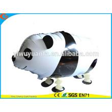 Projeto de novidade Walking Pet Balloon Toy Animal Panda para presente infantil