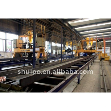 Linha de produção automática de semi-reboque (equipamento de reboque)