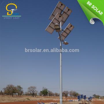 Solare Straßenbeleuchtung 12v 10w 30w Strom sicher durch Strom führte Gartenlicht