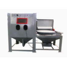 Commercial Mini Dustless Sandblasting Machine , Abrasive Bl