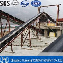 Bande de conveyeur en caoutchouc de corde de DIN22131 St630-St7500 en acier avec le GV