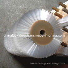 White Nylon Material Hair Brush Roller Brush (YY-102)