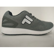 Young Style Grey Comfortable Shoes for Men