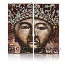 Pintura al por mayor de la pintura de Buda / arte de la pintura de Buda / arte de la pintura de la lona para la decoración de la pared