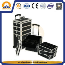 Hard Rolling Cosmetic Beauty Trolley Case for Makeup & Salon