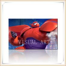 Papel da foto do amor dos desenhos animados de Baymax para o presente dos miúdos