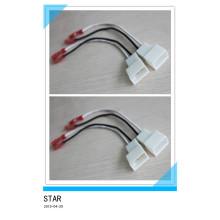 Fiche d'adaptateur de fil de haut-parleur de radio électrique de Custome