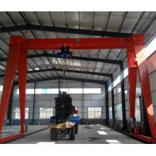 Grue de portique de levage de machines, grue mobile de portique d'intérieur