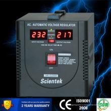 Светодиодный стабилизатор стабилизатора AVR 2000VA 1200 Вт для настенного крепления бытовой техники