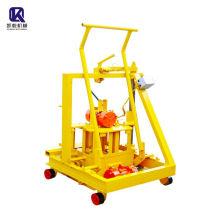 Manual moving block making machine easy operate