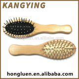 Hot Selling Durable Non Toxic Lonic Wood Magic Hair Brush