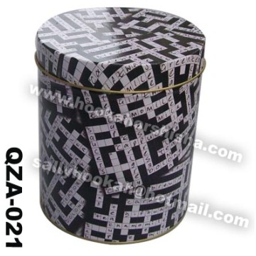 Cylindrical beautiful hookah shisha case