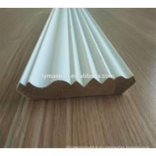 Gesso imprimado blanquear molduras de madera