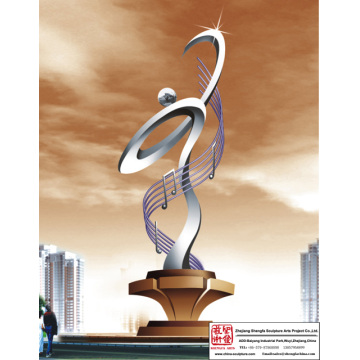 Garden Modern Stainless Steel Sculpture