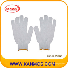 Industrial Safety Knitted White Cotton Hand Work Gloves for Wholesale Ship (61001)