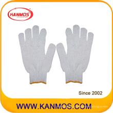 Дешевые трикотажные хлопчатобумажные рабочие рабочие перчатки (61001TC)