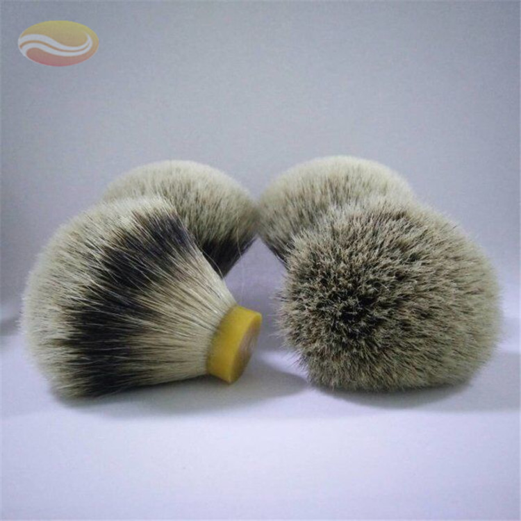 Silvertip Badger عقدة حلاقة شعر فرشاة