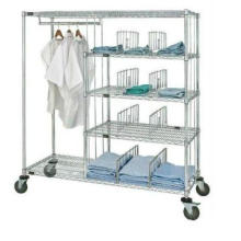 NSF Industrial Metal Garment Rack