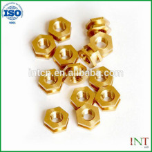 Chinese GB standard high quality Fasteners Hardware brass hex nuts