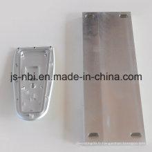 Plaque soudée en aluminium pour automobiles