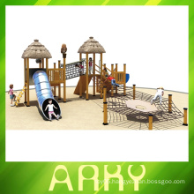 best quality wooden outdoor climbing playgrounds